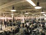 A view of the original 1 million SF manufacturing facility